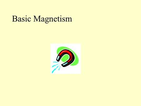 Basic Magnetism. Magnets occur naturally within rocks like lodestone. The word magnet is derived form a place called Magnesia because magnetic rocks are.
