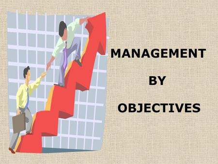 MANAGEMENT BY OBJECTIVES. OBJECTIVE SETTING S S specific M M measurable A A achievable R R result oriented T T time-related WORK HAVESUCCESS In an MBO,