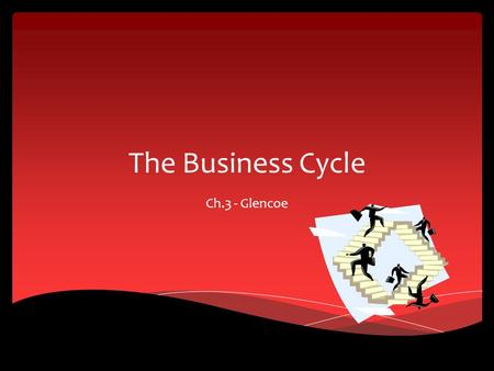 The Business Cycle Ch.3 - Glencoe.