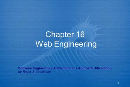 Slides chapters 21-23.