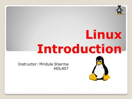 an introduction to the linux software The package management tool generally provides a way to search for software, install software, keep the software up to date and remove the software as we move into the future, certain linux distributions are introducing new types of packages which are self-contained much like android apps.