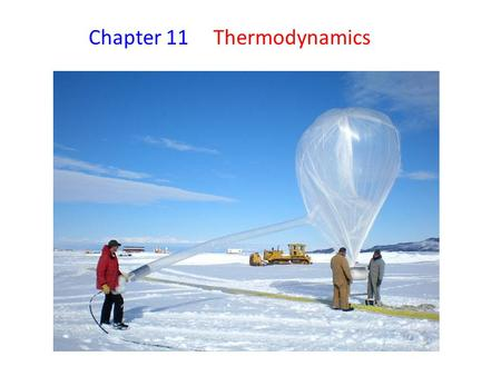 Chapter Thermodynamics