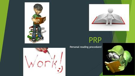 Personal reading procedure!