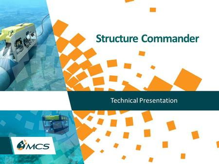 Structure Commander Technical Presentation. Copyright (C) MCS 2013, All rights reserved. www.mcsoil.com 2 STRUCTURE COMMANDER Introduction Product Overview.