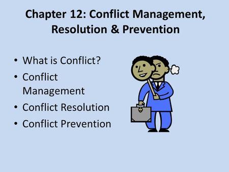 Conflict management. (session 9. 16) online presentation.