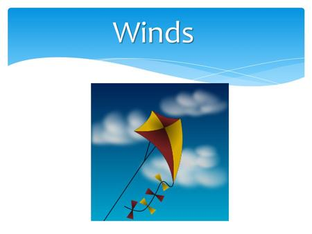 Winds.     at home  
