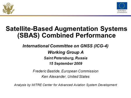 Satellite-Based Augmentation Systems (SBAS) Combined Performance