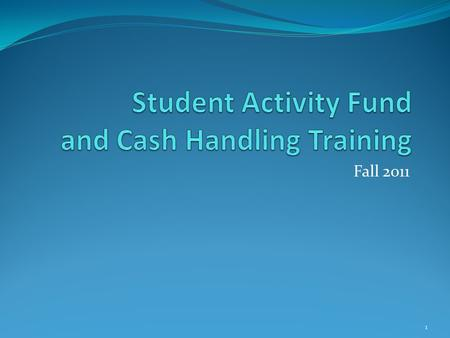 Fall 2011 1. What are Student Activities? ARS defines student activities as student clubs, organizations, school plays or other student entertainment.