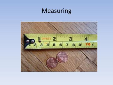 Measuring. Accuracy v. Precision pg. 8 Precision - how closely the measurements match each other. Instruments that measure using more decimals are more.