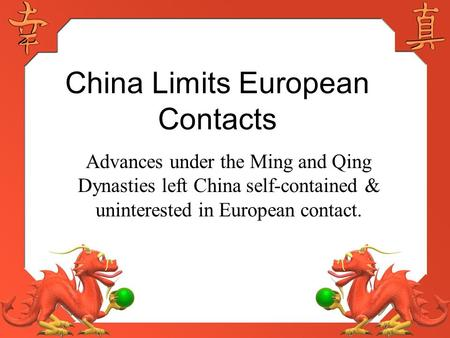 28 1 china resists outside influence ppt video online download rh slideplayer com