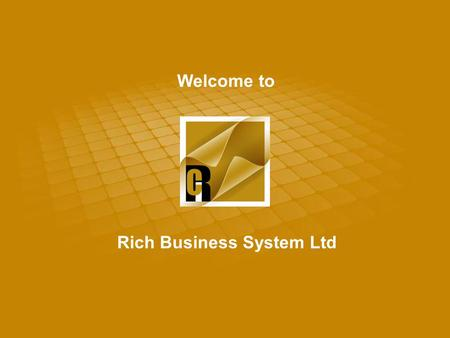 Welcome to Rich Business System Ltd.        