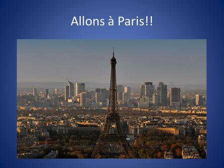 Allons à Paris!!. French Phrases for Transportation and Getting Around Where is the train station? Où est la gare? Excuse me, I am looking for the ticket.