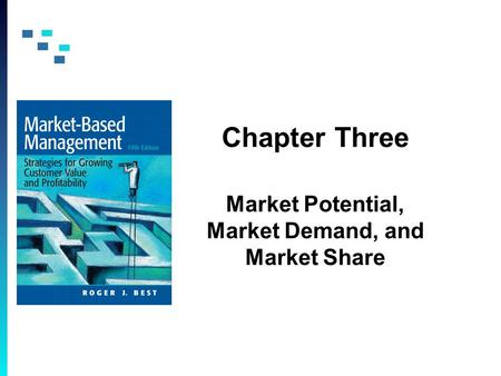 Chapter Three Market Potential, Market Demand, and Market Share.