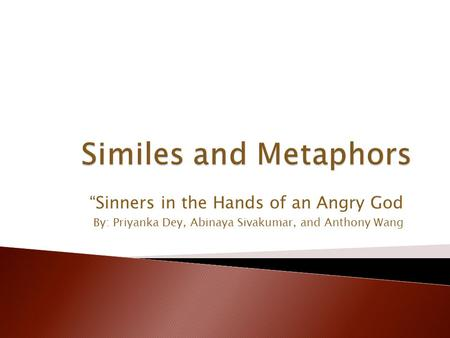 Sinners in the Hands of an Angry God Quotes