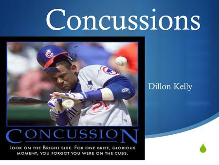  Concussions Dillon Kelly.  The Issue Advancements are continuing to develop within neurology on the subject of concussions and athletic departments,