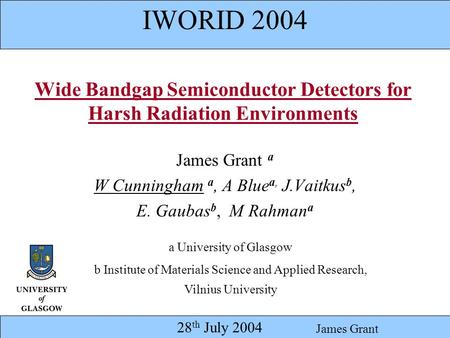 Wide Bandgap Semiconductor Detectors for Harsh Radiation Environments