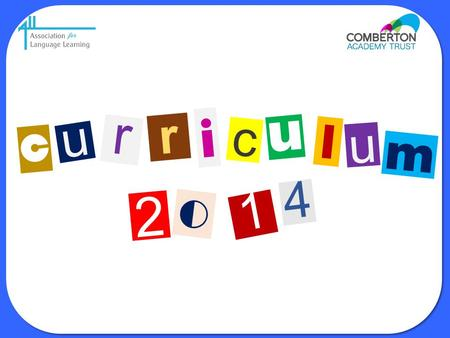 I r r c u l c u u m 4 2 o 1 Presentation Title: Introduction Curriculum 2014.