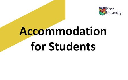 Accommodation for Students. Why live in halls What life is like in halls What if there is a problem? What you can see today Costs Any questions.