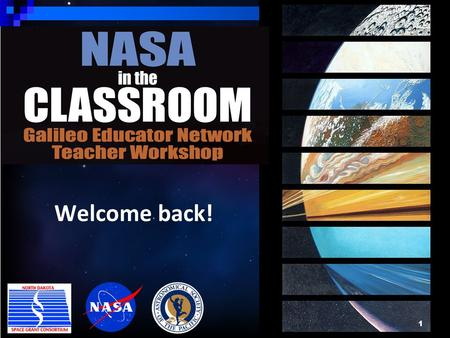 1 Welcome back!. Vision for Science Teaching and Learning 2 View free PDF from The National Academies Press at www.nap.eduwww.nap.edu *Will also be posted.