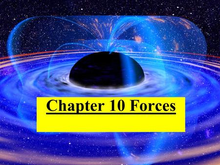 Chapter 10 Forces. Force and Net Force Force is a push or a pull on an object. Net force is the total force on an object.