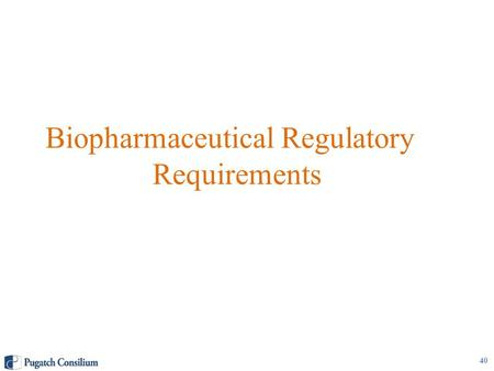 Biopharmaceutical Regulatory Requirements 40. Marketing Authorization for New Chemical Entities Health Canada's (HC) Therapeutic Products Directorate.