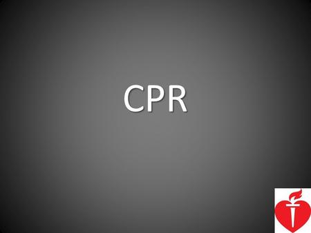 CPR.