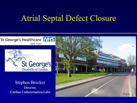 Atrial Septal Defect Closure