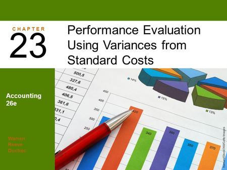 23 Performance Evaluation Using Variances from Standard Costs