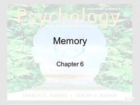 Memory Chapter 6.