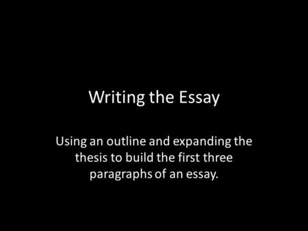 the tempest essay thesis