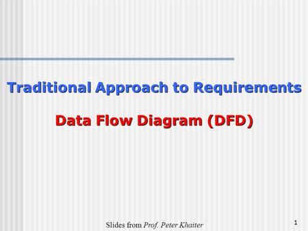 Chapter 7 using data flow diagrams ppt video online download traditional approach to requirements data flow diagram dfd ccuart Choice Image