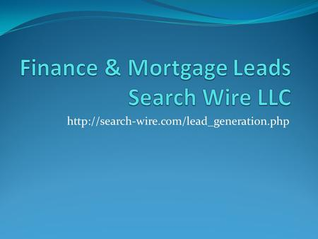 Company Profile Search Wire LLC is dedicated to creating customer friendly brands in the real estate niche.