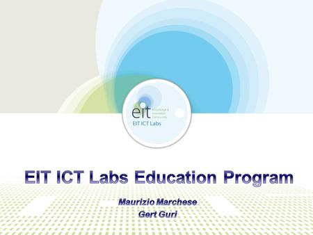 EIT ICT Labs  ICT innovation is driving transformations in society to improve quality of life  Rapid disruptive ICT innovation is a key driver in the.