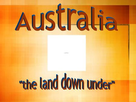 Australia is the world's smallest continent. It is an island continent surrounded by ocean. – It is slightly smaller than the continental United States.