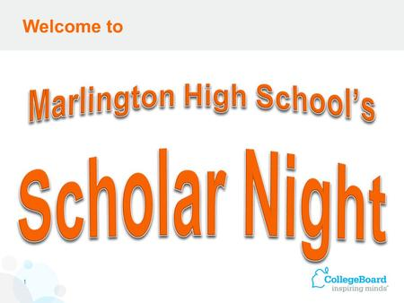 Welcome to 1. The Honors Program at Marlington High School.