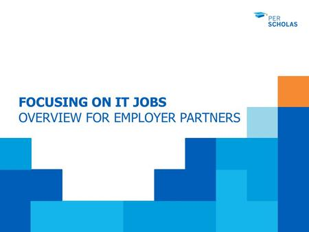 FOCUSING ON IT JOBS OVERVIEW FOR EMPLOYER PARTNERS.