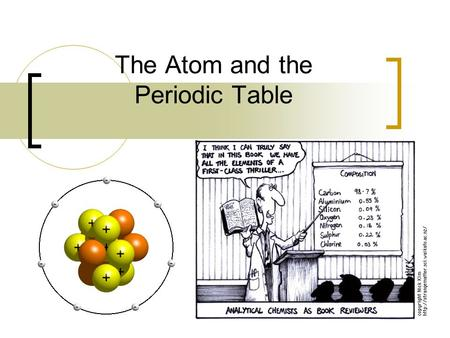 The Atom and the Periodic Table