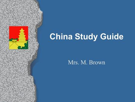 China Study Guide Mrs. M. Brown. According to the Mandate of Heaven, leaders were selected and allowed to rule as long as _______. A. everyone agreed.