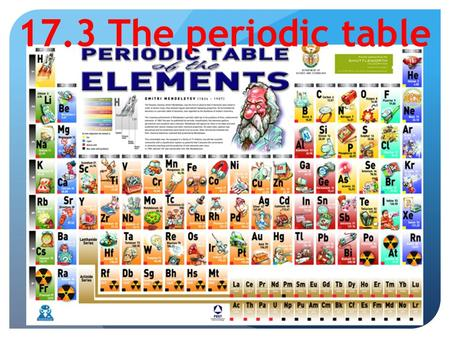 Mr skirbst physical science topic ppt video online download 173 the periodic table warm up what is the atomic number and the atomic mass urtaz Choice Image