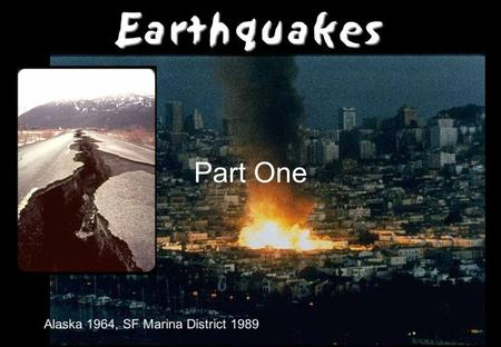 Part One. Elastic Rebound Theory The elastic rebound theory is an explanation for how energy is spread during earthquakes. As plates shift on opposite.