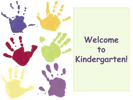 Welcome to <strong>Kindergarten</strong>!. How to Contact Us Phone 410-751-3203 Note or <strong>Miss</strong> Fagan Mrs. Funk