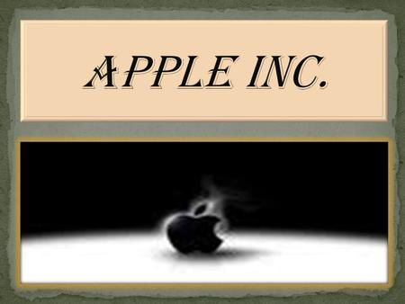  Apple Computer INC. was co-founded in 1976 by the CEO of Apple Steve P. Jobs, and it was incorporated in California On January 3, 1977.