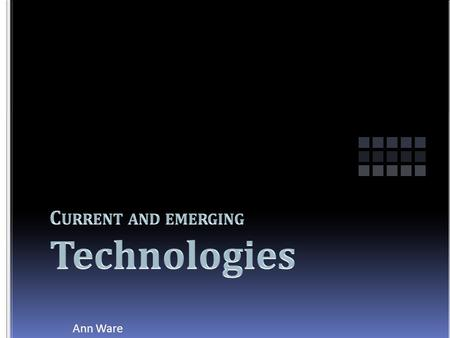 Ann Ware. Cloud computing is Internet-based computing, where shared resources, software and information are provided to computers and other devices on-