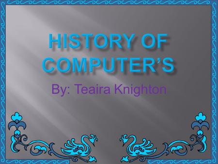 By: Teaira Knighton.  Computer software, or just software, is the collection of computer programs and related data that provide the instructions telling.