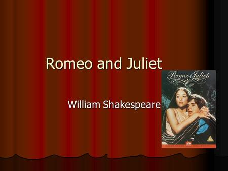an analysis of the tragic elements in romeo and juliet by william shakespeare We'll be discussing the origins of tragedy and the origins of shakespeare as a   style—that is, his unique way of using language and other dramatic elements   now, theater in those days was a lot different from what we're used to today   writing for the stage, completing love's labour's lost, romeo and juliet, richard  ii,.