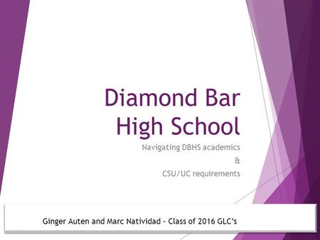 Diamond Bar High School