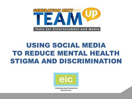 Using Social Media To Reduce Mental Health Stigma And Discrimination