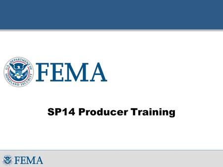 SP14 Producer Training. Welcome  Welcome  Introductions  Classroom Protocol  Agenda.
