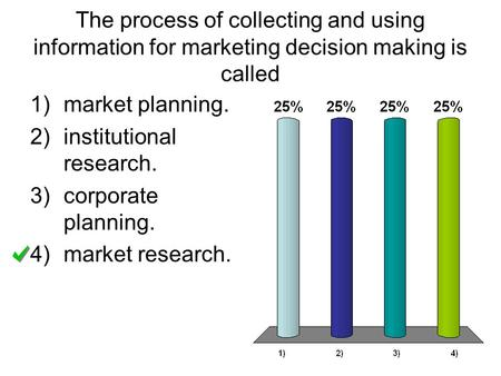 market planning. institutional research. corporate planning.