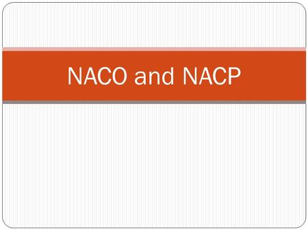 NACO and NACP. Response of Govt to HIV National AIDS Control Programme (NACP) under Ministry of Health & Family Welfare in 1992 NACP I (1992 – 1999) NACP.